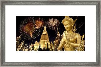 Amazing Thailand Framed Print by Anek Suwannaphoom