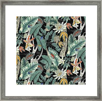 Amazon Framed Print by Jacqueline Colley