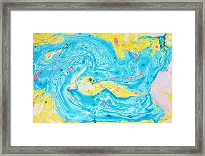 Amazon Framed Print by Marianne Davidow
