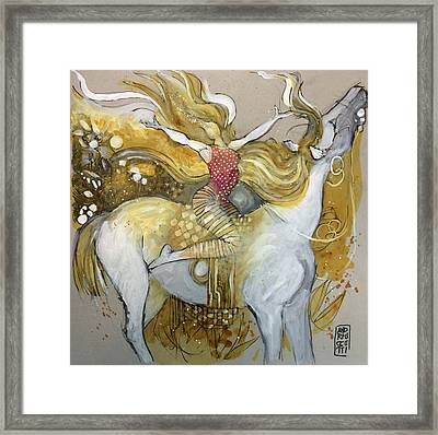 Amazone Framed Print by Alessandro Andreuccetti