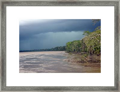 Amazonian Storm Study Number One Framed Print
