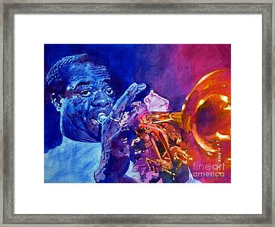 Ambassador Of Jazz - Louis Armstrong Framed Print