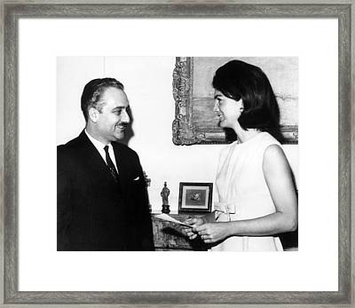 Ambassador Talat Al-ghoussein Of Kuwait Framed Print