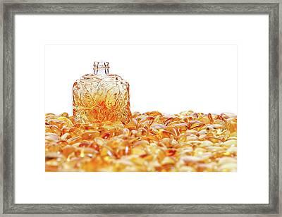 Amber #0932 Framed Print by Andrey Godyaykin