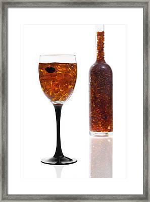 Amber #8118 Framed Print by Andrey Godyaykin