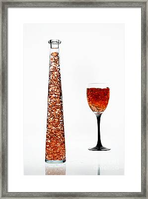 Amber #8414 Framed Print by Andrey Godyaykin