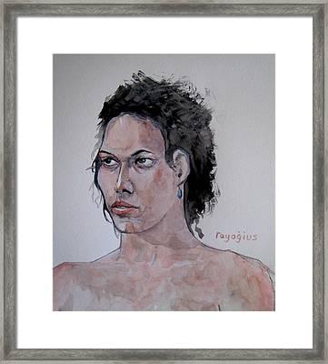 Amber B IIi Framed Print