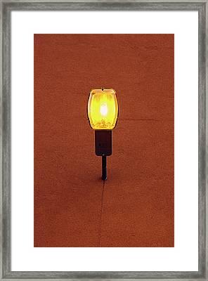 Amber Gem Framed Print by Tgchan