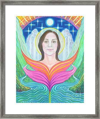 Amber - Lady Of Light Framed Print