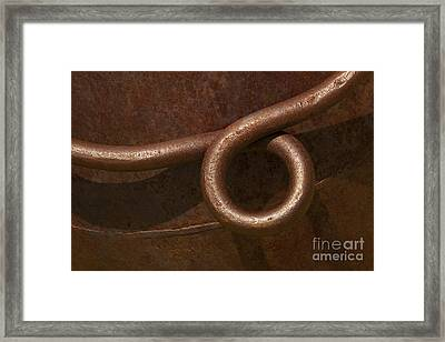 Amber Loop Framed Print by Jennifer Apffel