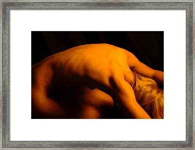 Amber Nudes 12 Framed Print