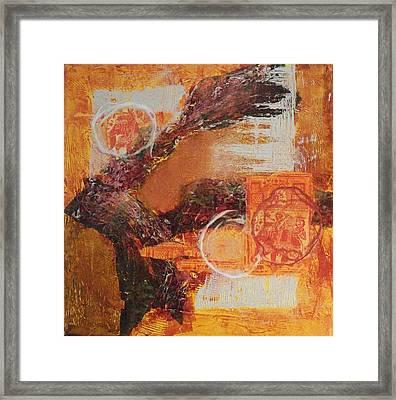 Amber Parade Framed Print