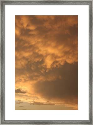 Amber Twilight Framed Print by Jonathan Kotinek