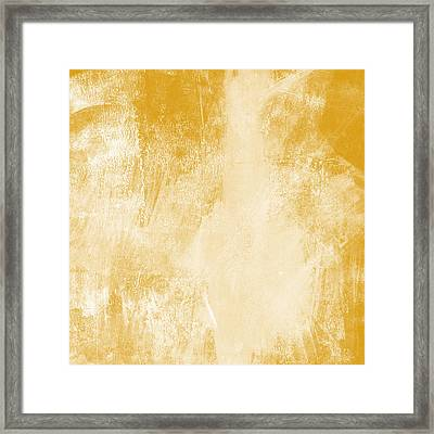 Amber Waves Framed Print by Linda Woods