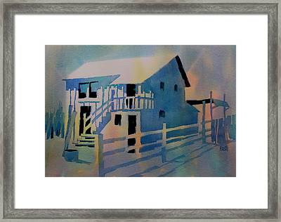 Ambergris Cay Framed Print