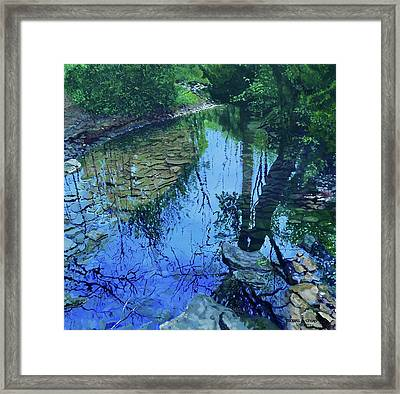 Amberly Creek Framed Print