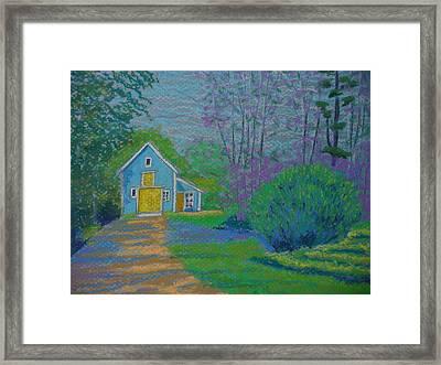 Amberrose Barn Framed Print