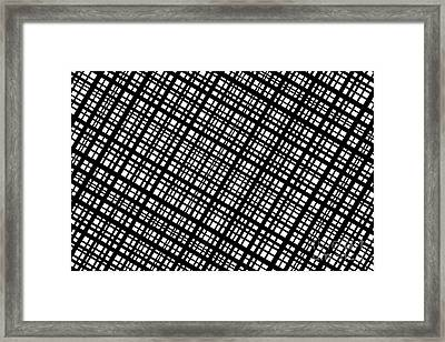 Framed Print featuring the digital art Ambient 35 by Bruce Stanfield