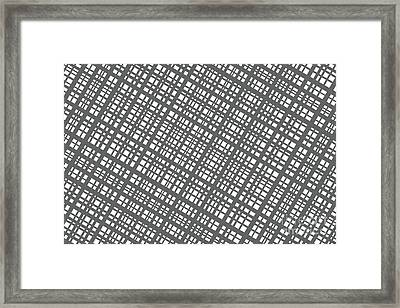 Framed Print featuring the digital art Ambient 36 by Bruce Stanfield