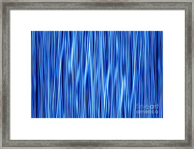 Framed Print featuring the digital art Ambient 8 by Bruce Stanfield