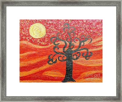 Ambient Bliss Framed Print
