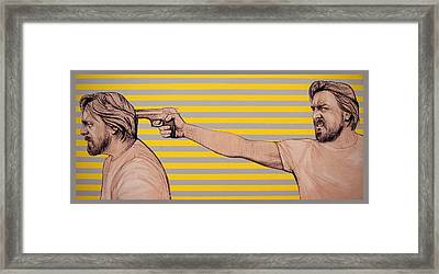 Ambiface 6 Framed Print by Jovana Kolic