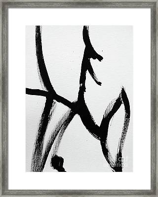 Framed Print featuring the painting Ambit by Robin Maria Pedrero
