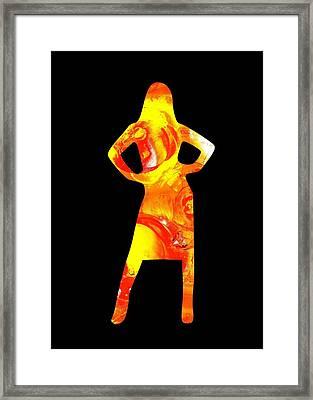 Ambitious Framed Print by Anastasiya Malakhova