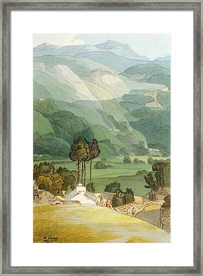 Ambleside Framed Print by Francis Towne