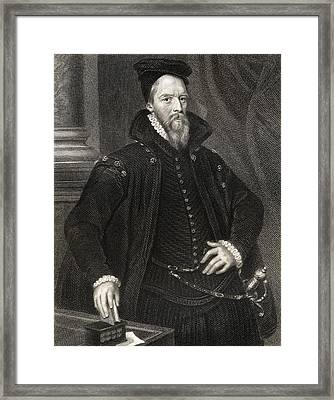 Ambrose Dudley, Earl Of Warwick, C.1528 Framed Print