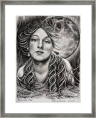 Ambrosia Tide Framed Print by Tiffany Carman