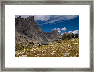 Ambush Peak Framed Print