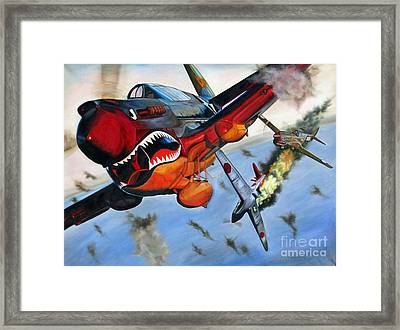 Ambushed Framed Print