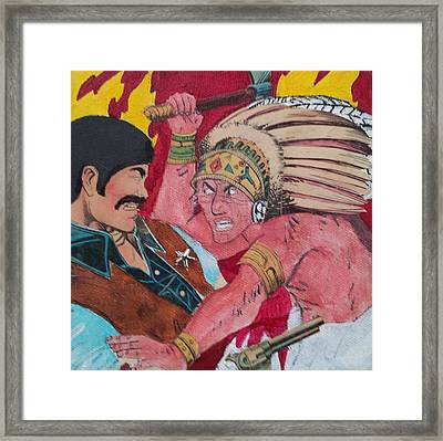 Ambushed Framed Print by William Douglas