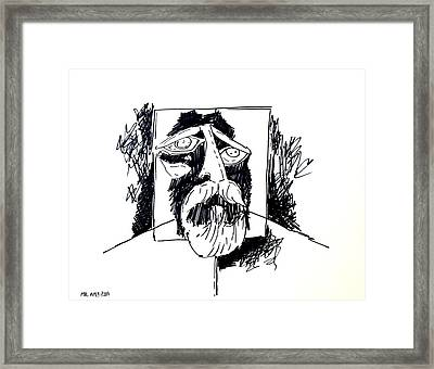 Ameeba 106- Old Man Framed Print