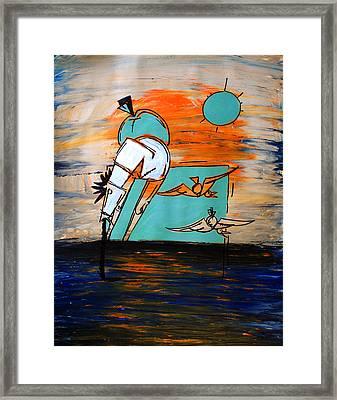 Ameeba- Horse 1 Framed Print