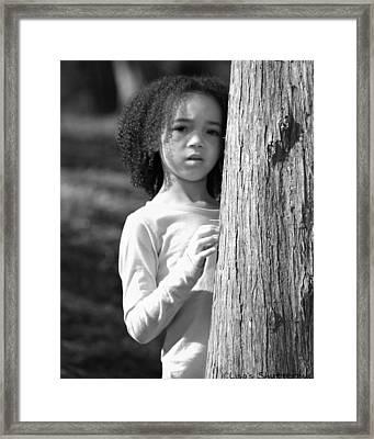 Amelia 4 Framed Print by Lisa Johnston