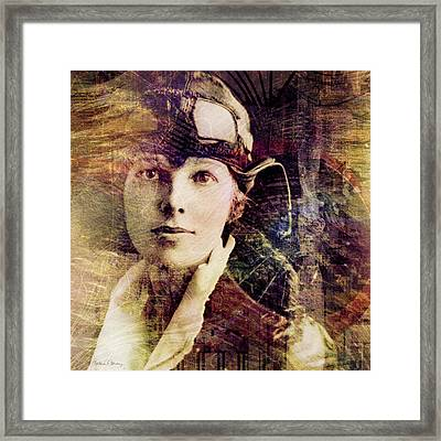 Amelia Framed Print by Barbara Berney