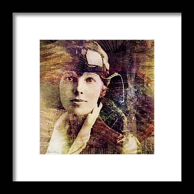 Airplane Pilot Framed Prints