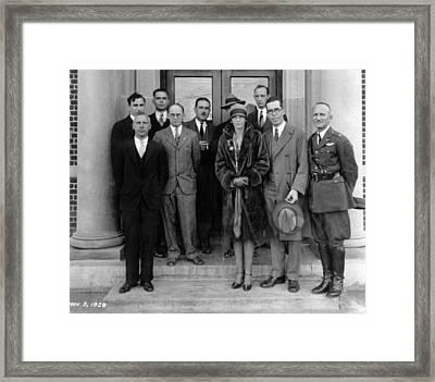 Amelia Earhart Nasa Framed Print