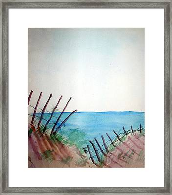 Amelia Island Framed Print by Leigh Odom