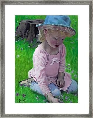 Amelia Framed Print by Laurel Ellis