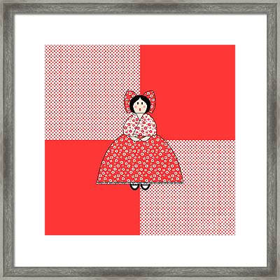 Amelia Framed Print by Methune Hively