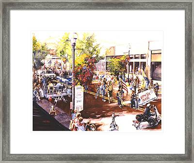 America At Its Best Framed Print by Mike Hill