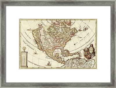 America Borealis 1699 Framed Print