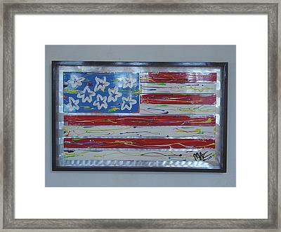 America Edition 1 Framed Print by Mac Worthington