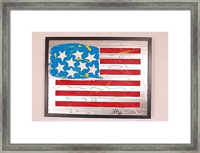 America Edition 3 Framed Print by Mac Worthington
