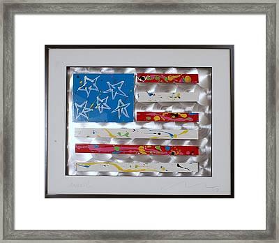 America Edition 5 Framed Print by Mac Worthington
