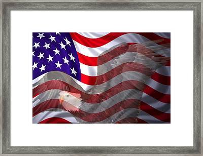 America Freedom Framed Print