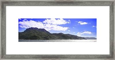 America Samoa Framed Print by Wes Shinn